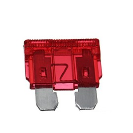 Fusible Ficha 10 Amp. Rojo (0010)