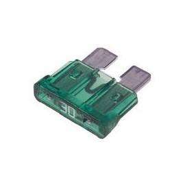 Fusible Ficha 30 Amp.verde (0030)