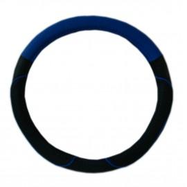 Cubre Volante 38cm Negro/azul Cv-033tu