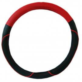 Cubre Volante 38cm Negro/rojo Cv-033r
