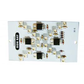 Lampara Electronica Led P/faro 1400 Bco 12/24v