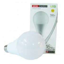 Foco Led 16w / 160w (luz Calida)
