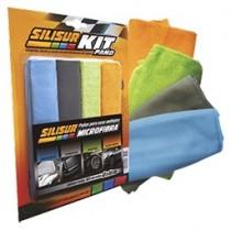 Silisur- Paño Microfibra Set X 4 U. 40x40