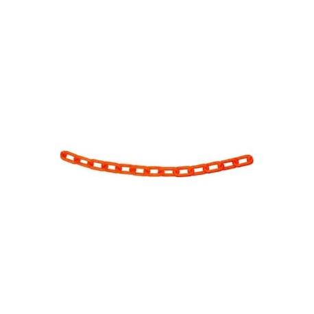 Cadena Plastica Eslab.5x3cm Naranja