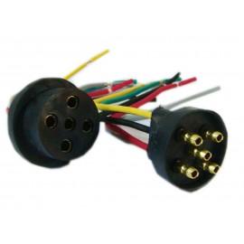 Conector Plastico O.r.o. 5 Vias (m/h)