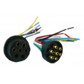 Conector Plastico O.r.o. 7 Vias (m/h)
