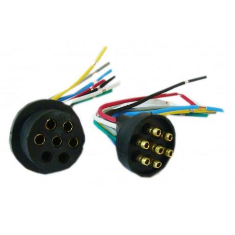 Conector O.r.o. 7 Vias (m/h)