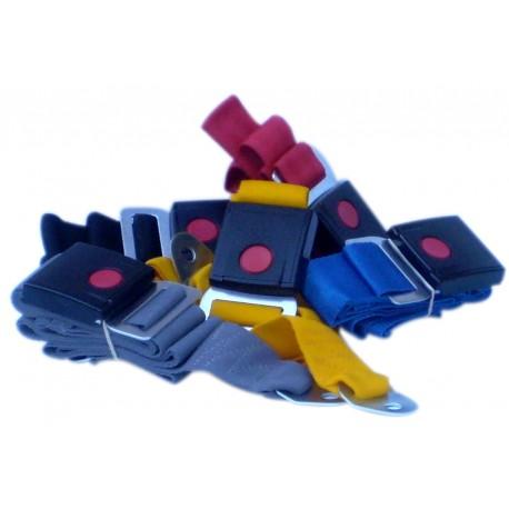 Cinturon Seguridad Trasero Color X2