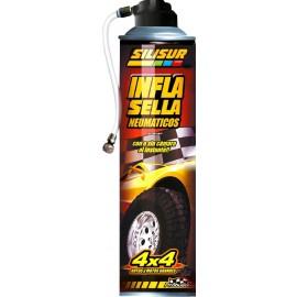 Silisur- Infla Sella Cubiertas 4x4 450grs
