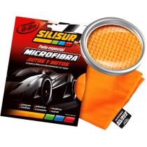 Silisur- Paño Microfibra Autos Y Motos 40x38cm.