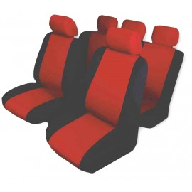 Funda C. Asiento .tuning Soft X 4 Rojo Art.200