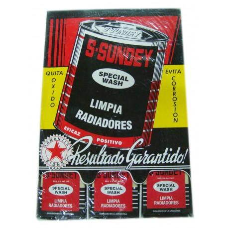 Sundey- Limpia Radiador 102