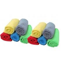 Paño Microfibra Pack X 10 De 30 X 30 Cm Aj10