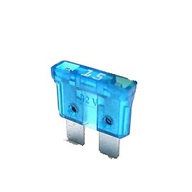Fusible Ficha 15 Amp. Azul (0015)