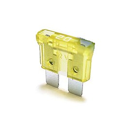 Fusible Ficha 20 Amp.amarillo (0020)