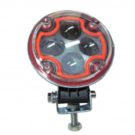 Faro Proyector De Led 12w C/drl Red. Azul Ii94a (12/24v)