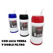 Mate Automatico C/saca Yerba Fluvion 500cc