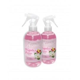 Fragancia Textil Magnolia Y Fresias (perfumina) ´saphirus´