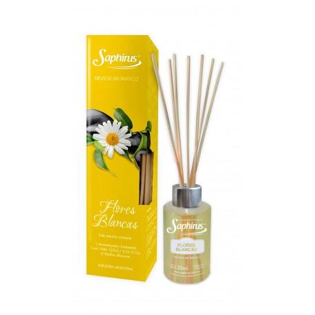 Difusor Aromatico Flores Blancas saphirus