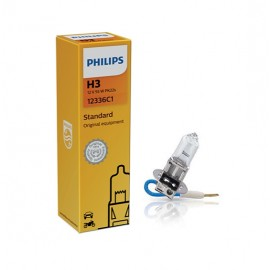 Philips- 12336 H3 12v 55w Pk22s  C1