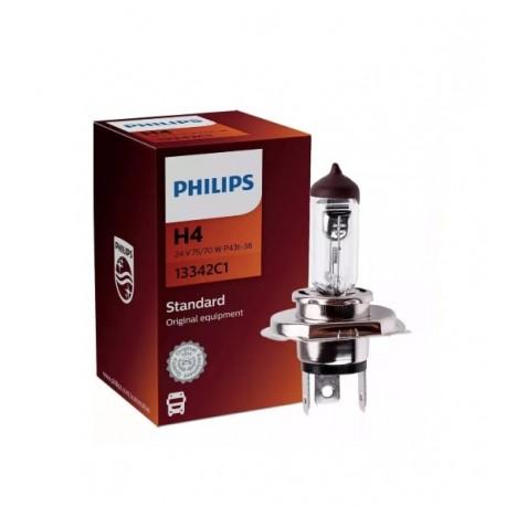 Philips- 13342 H4 24v 75/70 P43t-38
