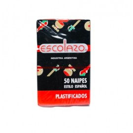 Naipes Escolazo X 50