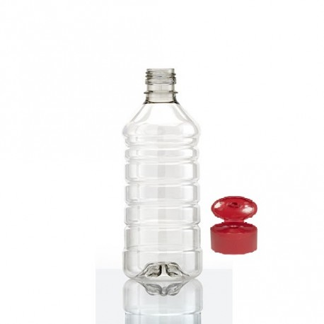 Botella 1/2 Lt. Virgen C/tapa