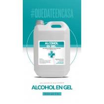 Alcohol En Gel Sanitizante P/manos Bidon X 5 Lts