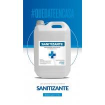 Sanitizante P/manos Líquido Neutro Bidon X 5 Lts