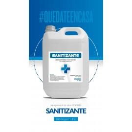 Sanitizante Líquido P/manos Neutro Bidon X 5 Lts