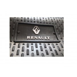 Cubre Alfombra Goma 3 Pcs Renault