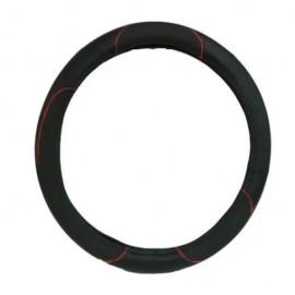 Cubrevolante Negro C/costura Roja Talle M (imp)