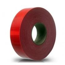 Cinta Reflectiva Roja Rollo 75mmx45m (imp)