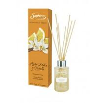 Difusor Aromatico Limon Dulce Y Vainilla saphirus