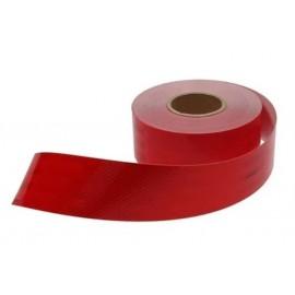 Cinta Refl.roja 75mm **tramo Reg.50cm** (imp)