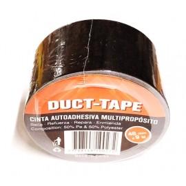 Cinta Duct-tape Negra 48mmx9m (imp)
