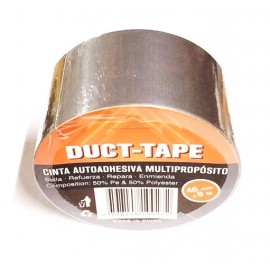 Cinta Duct-tape Gris 48mmx9m (imp)