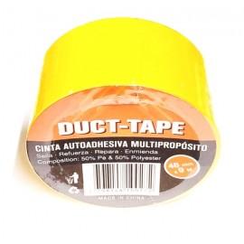 Cinta Duct-tape Amarilla 48mmx9m (imp)