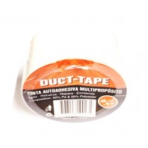 Cinta Duct-tape Blanca 48mmx9m (imp)