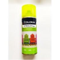 Colorin- Pintura Aer.vitrolux Amarillo Fluo X440cc.
