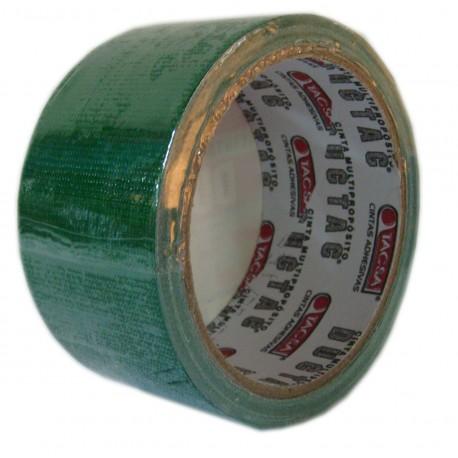 Cinta Duct Tac 48mm X 9m Verde