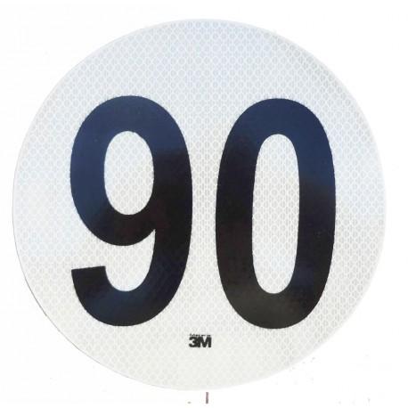 Circulo Velocidad Maxima 90