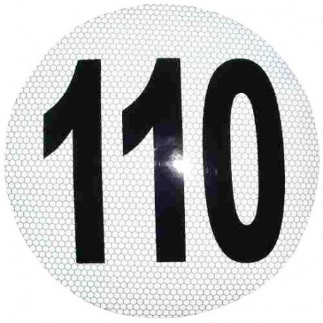 Circulo Velocidad Maxima 110