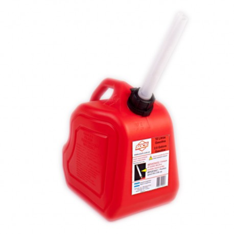 Bidon Nafta Soch 10 Lts.  Rojo (sb10g)